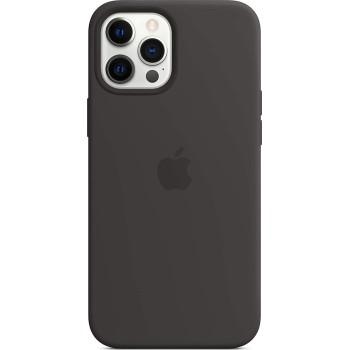 Θήκη Σιλικόνης Apple® Silicone Case με Magsafe για Apple iPhone 12 Pro Max - Black (MHLG3ZM/A)
