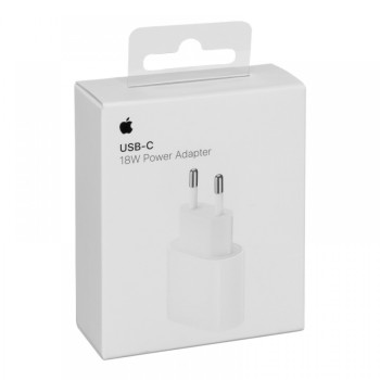 Φορτιστής Apple A1692 USB-C 18W - White
