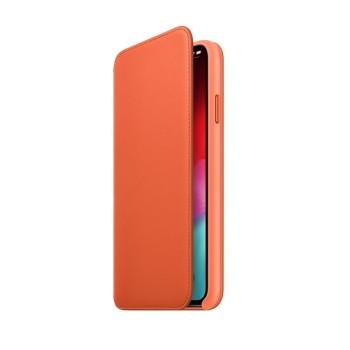 Θήκη Σιλικόνης Apple® Leather Folio για Apple iPhone XS Max - Sunset