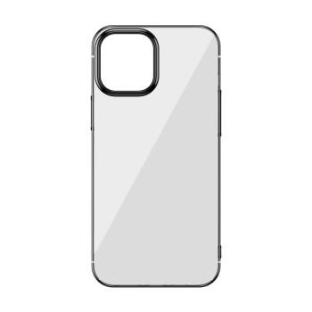 Σκληρή Θήκη Baseus Glitter Case για iPhone 12 Pro Max - Βlack