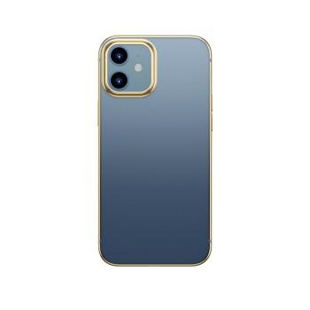 Σκληρή Θήκη Baseus Shining For iPhone 12 / iPhone 12 Pro (2020) - Gold