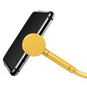 Καλώδιο Φόρτισης Baseus Maruko Angle 90° USB σε USB-C 2.1A 1m - Yellow