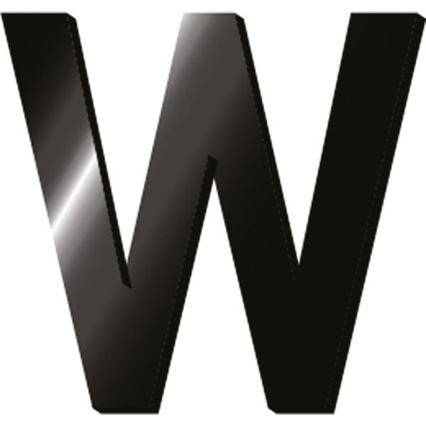 Αρχικά Γράμματα Legami Initial Letters Stickers - W