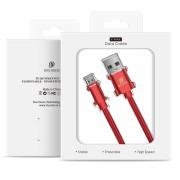 Καλώδιο Φόρτισης Dux Ducis K-Max Supercharge QC 3.0 USB σε USB-C 5A 1m - Red