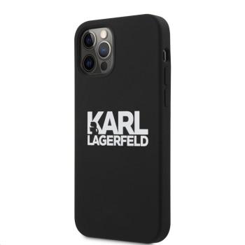 Σκληρή Θήκη Karl Lagerfeld® Stack Logo για Apple iPhone 12 Pro Max  - Black