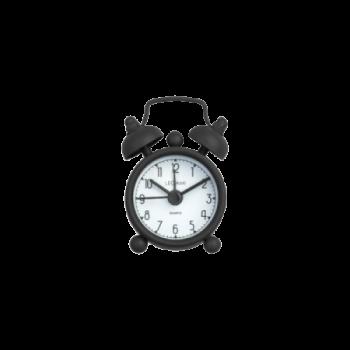 Mini Tick Tock Alarm Clock Legami Vintage Memories - Black