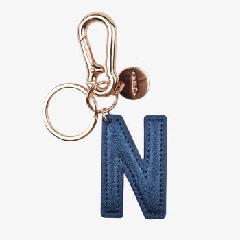 Μπρελόκ με Μονόγραμμα Legami Key Ring - N - Blue