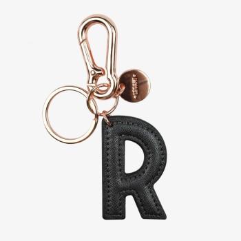 Μπρελόκ με Μονόγραμμα Legami Key Ring - R - Black