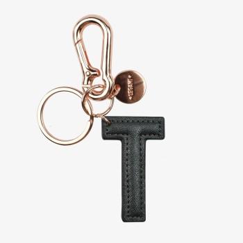 Μπρελόκ με Μονόγραμμα Legami Key Ring - T - Black