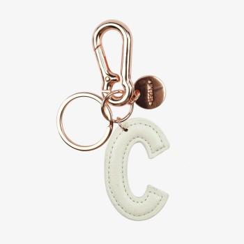 Μπρελόκ με Μονόγραμμα Legami Key Ring - C - White