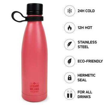 Μπουκάλι Θερμός Legami Hot & Cold Coral
