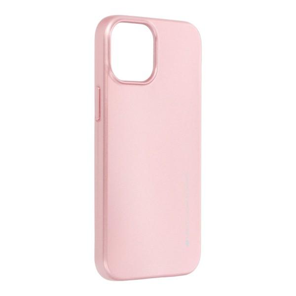 Θήκη Σκληρή Mercury i-Jelly για Apple iPhone 13 Pro Max - Rose Gold