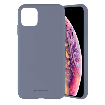 Θήκη Σιλικόνης Mercury Silicone Case για Apple iPhone 11 Pro - Lavender Gray