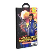 Tempered Glass Mr.Monkey Strong Matte Full Cover Full Glue 5D 9H 0.3mm για Apple iPhone 11 Pro/XS/X - Black (Anti-Glare)