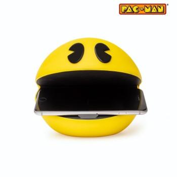 Ασύρματος φορτιστής PAC-MAN 3D FACE WIRELESS CHARGER - Yellow