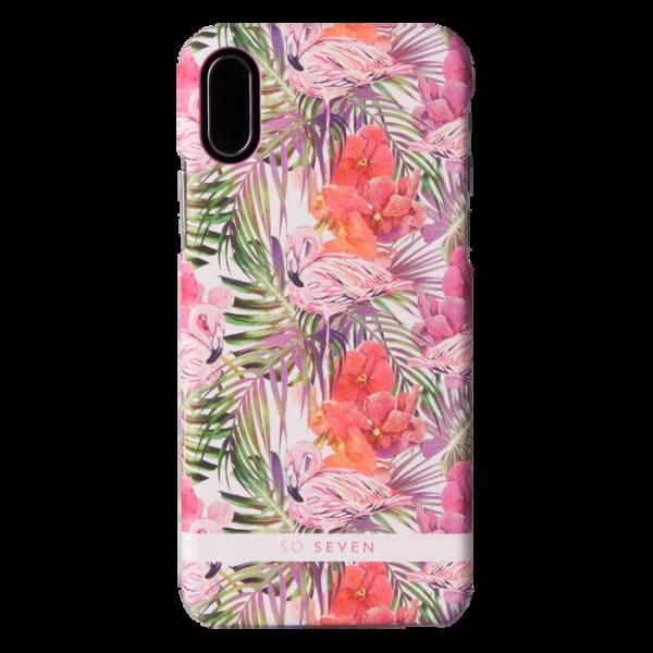 Σκληρή Θήκη Fashion Rio Flamingo Cover for iPhone X/XS - Pink
