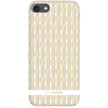 Σκληρή Θήκη So Seven® Paris Arches για Apple iPhone 8/7/6S/6/SE 2020- White Gold