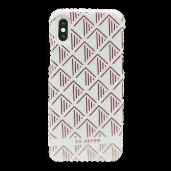 Θήκη Σκληρή So Seven® Paris White για Apple iPhone X/Xs
