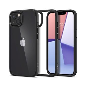 Θήκη Σιλικόνης Spigen® Ultra Hybrid για iPhone  13 - Matte Black