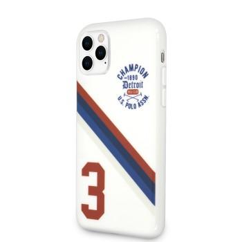 Θήκη US Polo Hard Case PC/TPU Detroit 3 για iPhone 11 Pro - White