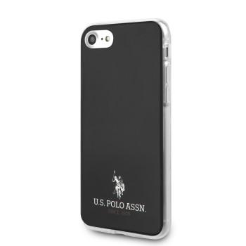 Σκληρή Θήκη U.S. Polo TPU Small Horse Cover για iPhone SE/8/7 - Black