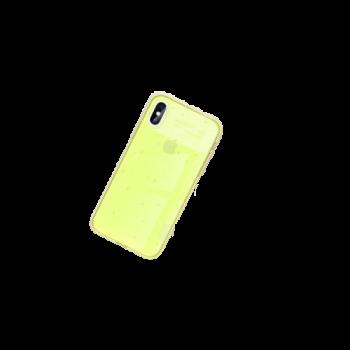 Θήκη Σιλικόνης X-Level Rainbow Series 0.3mm για Apple iPhone XS/iPhone X - Διάφανη Πράσινη