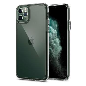 Θήκη Σιλικόνης Spigen Ultra Hybrid για iPhone 11 Pro - Διάφανο